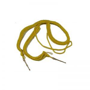 cordon rayon amarillo doble adulto con cabeteros