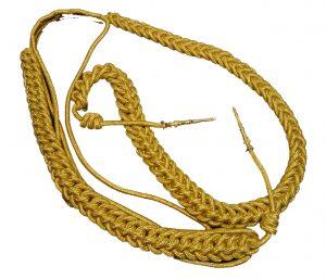 Cordones hilo oro con cabeteros